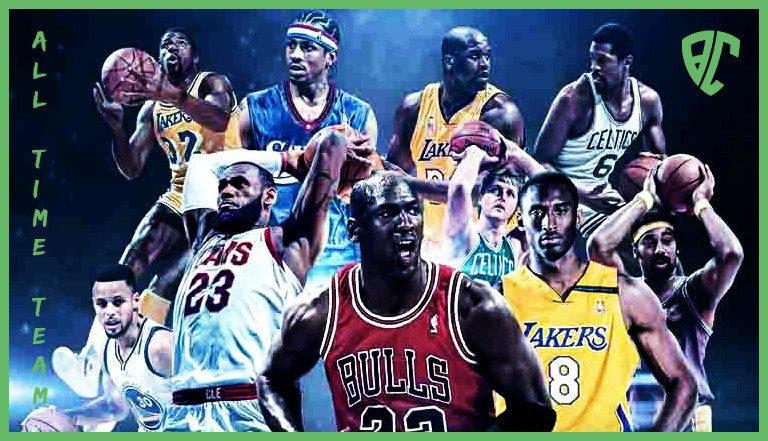 NBA ALL-TIME TEAM — BetCrushers