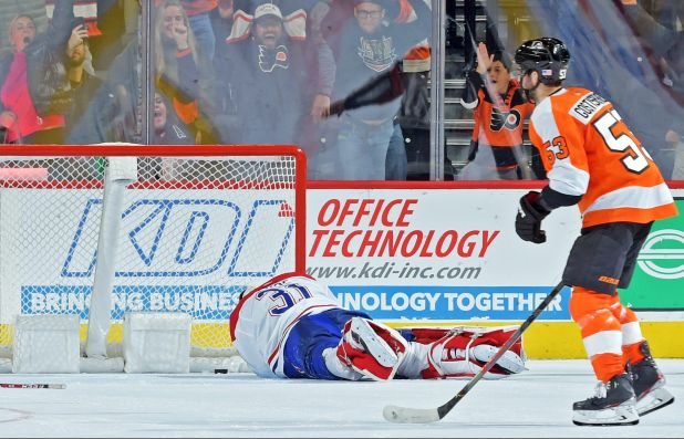 Sean Couturier Scores OT Winner As Flyers Beat Canadiens To Extend Point Streak To Four Games — CBS Philly