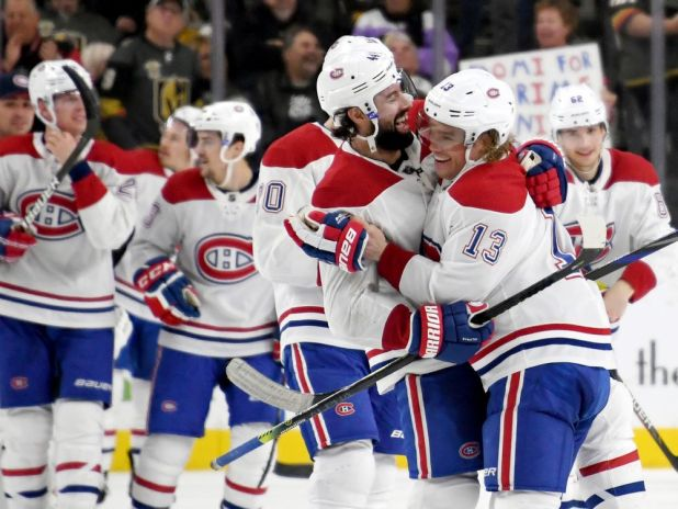 In the Habs' Room: Pluck or luck, Habs take Vegas win to third spot in division — Montreal Gazette