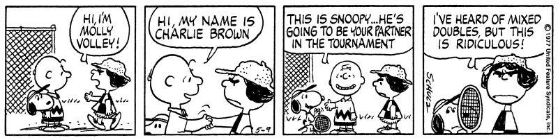 It's Tennis, Charlie Brown — Longreads