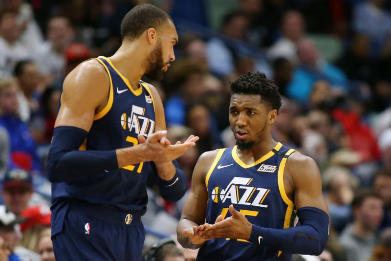 """Donovan Mitchell Opens Up About Rudy Gobert, Says """"It Took A While For Me To Kind of Cool Off"""" — ESPN Richmond"""