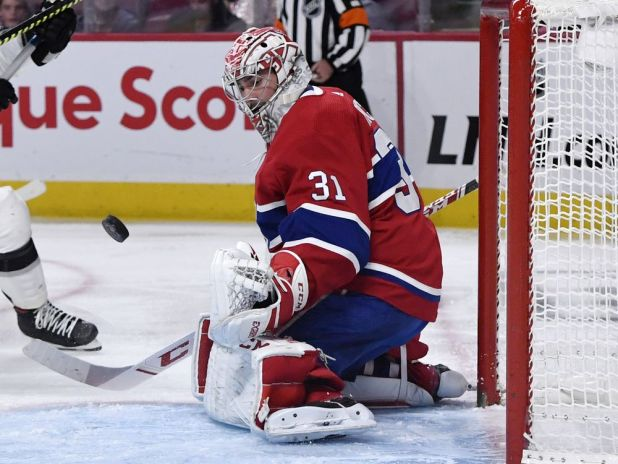 In the Habs' Room: Montreal hangs on for win despite first-period outburst — Montreal Gazette