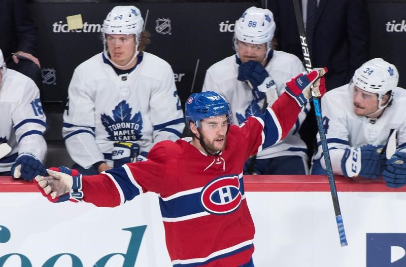 Drouin, Canadiens beat Maple Leafs 5-2 —