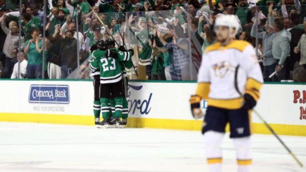 Stars eliminate Predators in overtime thriller — ProHockeyTalk