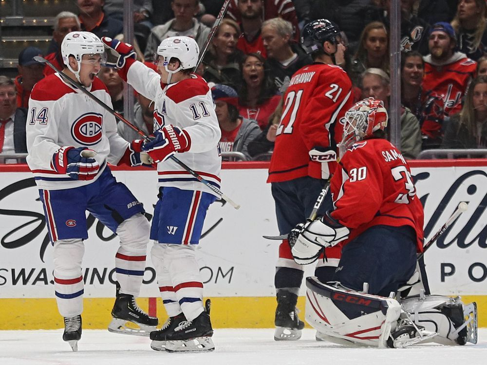 Canadiens flood Washington with goals in second period for 5-2 win — Montreal Gazette