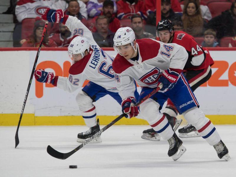 Canadiens squeak past lowly Senators 2-1 in overtime — Montreal Gazette