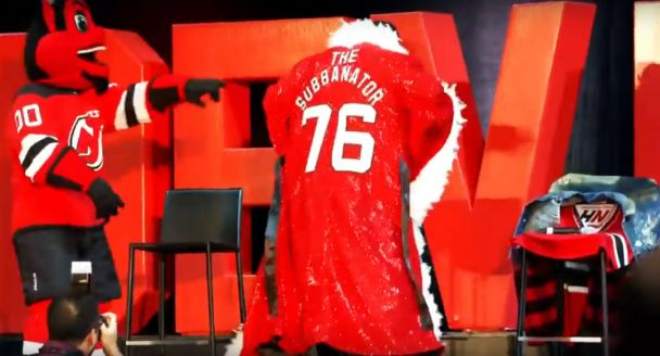 The New Jersey Devils Epic Celebration Welcoming P.K. Subban To The Team Included An Amazing Ric Flair Robe — BroBible