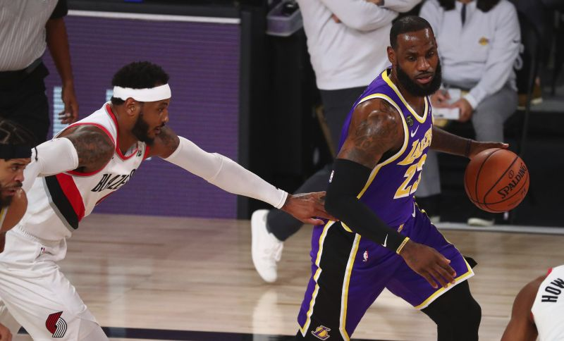 LeBron James scores 38 as Lakers knock out Blazers in Game 3, take 2-1 series lead — Daily News — The view from left field