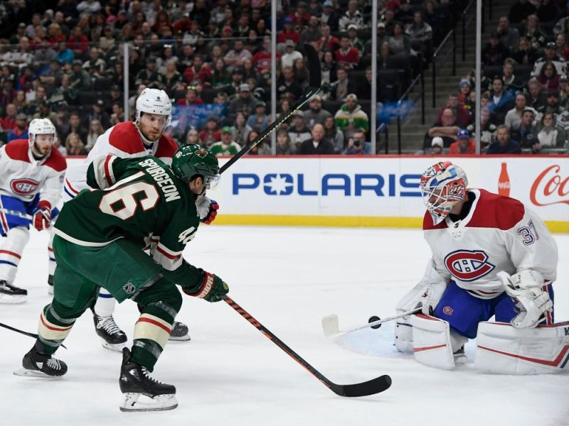 Canadiens nearly squeak out a win against Wild — Montreal Gazette