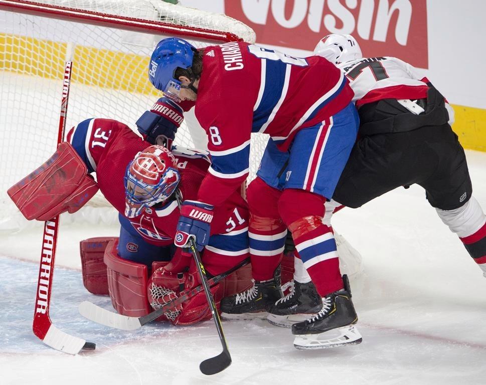 Canadiens down Sens to snap 5-game winless streak — Global News