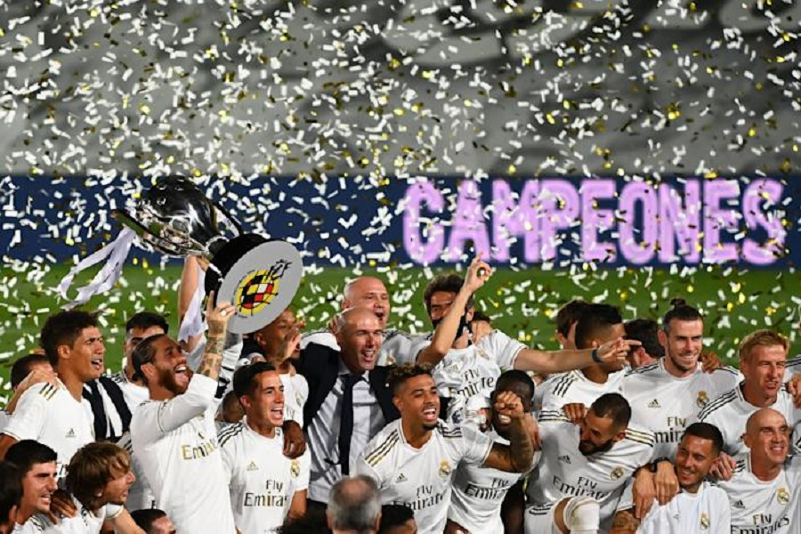 Real Madrid wins record-extending 34th La Liga title behind core of stars with staggering longevity (video) — PRICELESS VIBEX