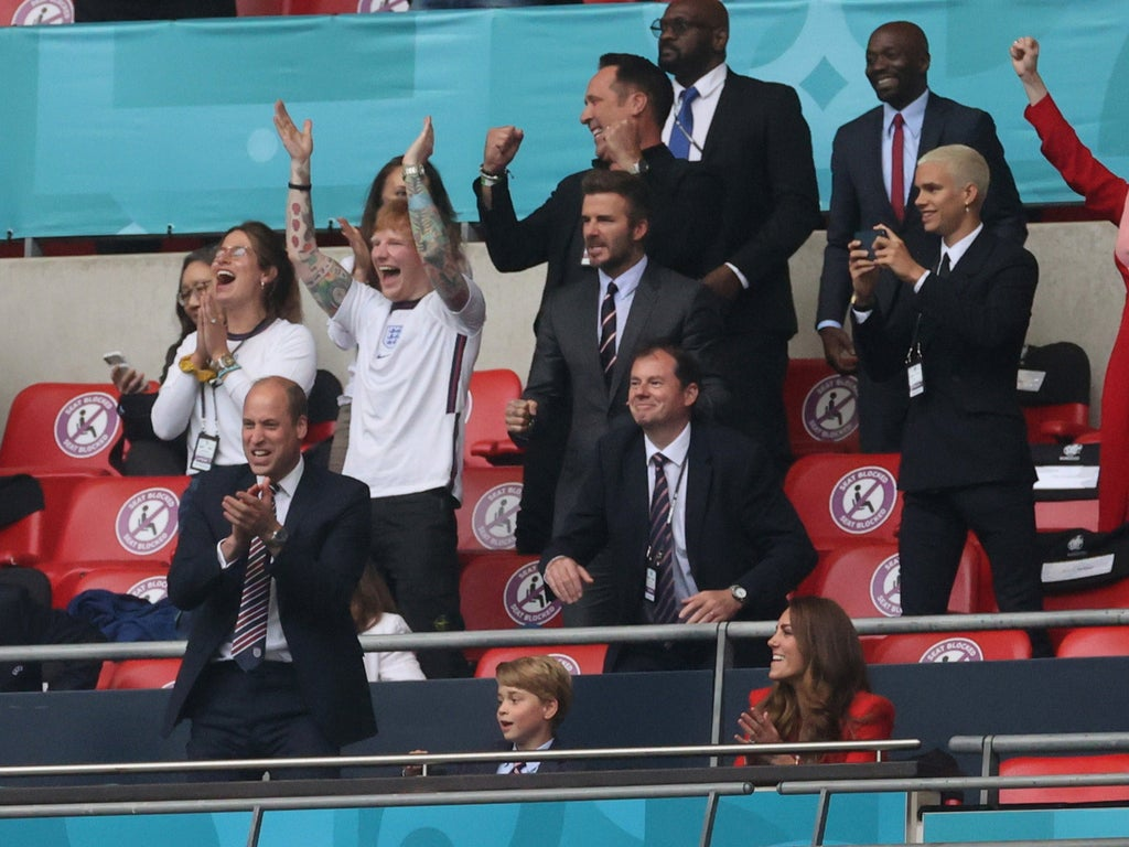 Euro 2020: England v Germany game reaches audience peak of 20.6 million as Ed Sheeran and David Beckham spotted at Wembley — BreakingNews.News | World Up To The Minute Premier Latest Live Feeds