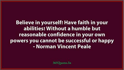 """Believe in yourself!!"