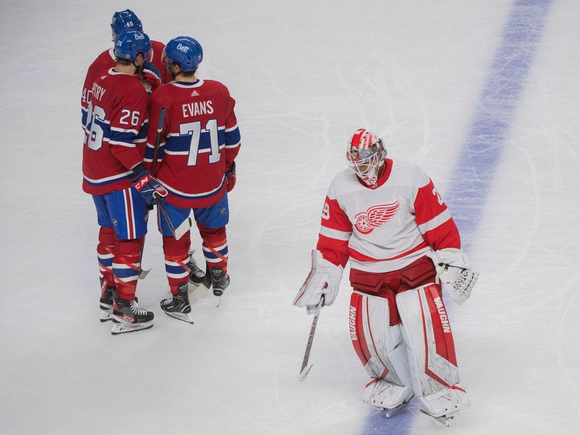 Red Wings fall to Canadiens 6-1, Larkin scores lone goal for Detroit — Content Hub