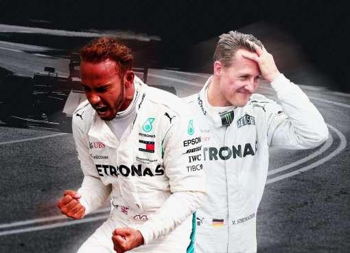 F1: Hamilton chasse le record de Schumacher