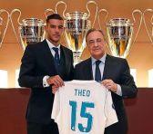 Theo Hernández, nuevo jugador del Real Madrid