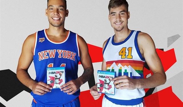 Willy y Juancho Hernangómez, embajadores del videojuego 'NBA 2K18'