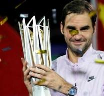 Federer vence a Nadal y se lleva el torneo de Shangai