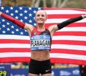 El maratón de Nueva York tiene ganadora local después de 40 años