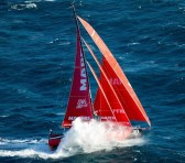 El MAPFRE en la cuarta posición de la Volvo Ocean Race