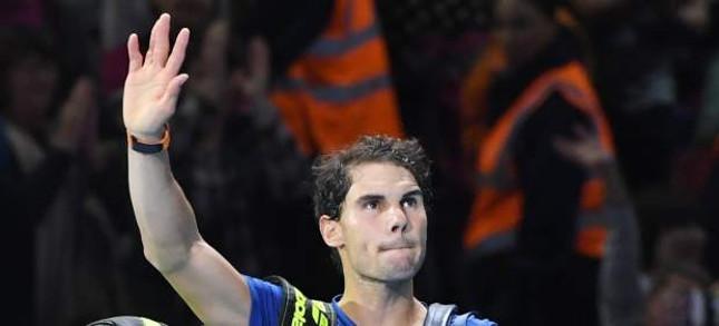 Rafa Nadal abandona las ATP Finals en Londres tras resentirse de su rodilla y perder ante David Goffin