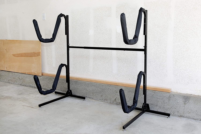 insight kayak rack free standing kayak storage for indoor outdoor