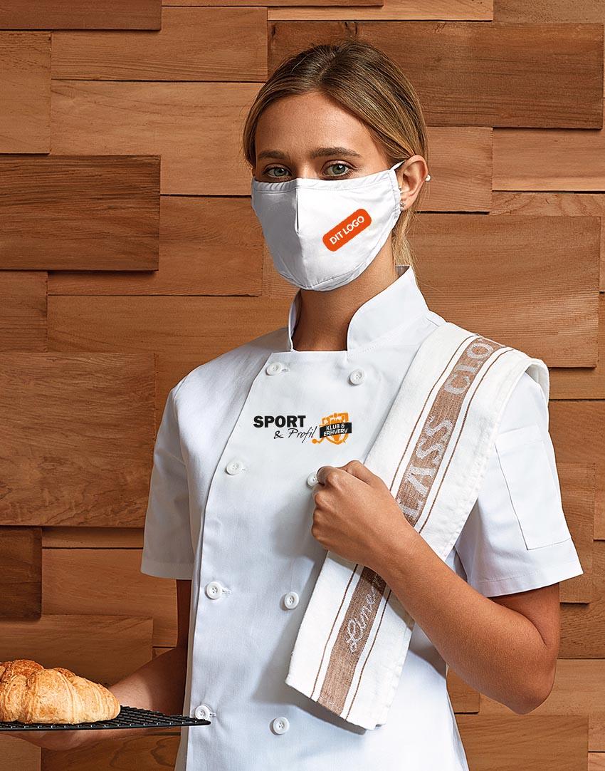 Køb dit mundbind med logo hos Sport & Profil