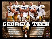 Georgia Tech Football Poster