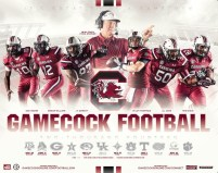 South Carolina Football Poster