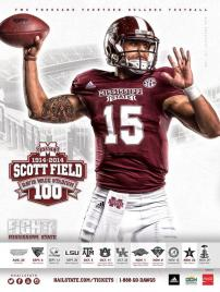 Miss State Football Poster