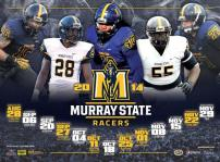 Murray State Football Poster
