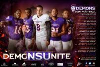 NSU Football Poster