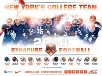 Syracuse Football Poster