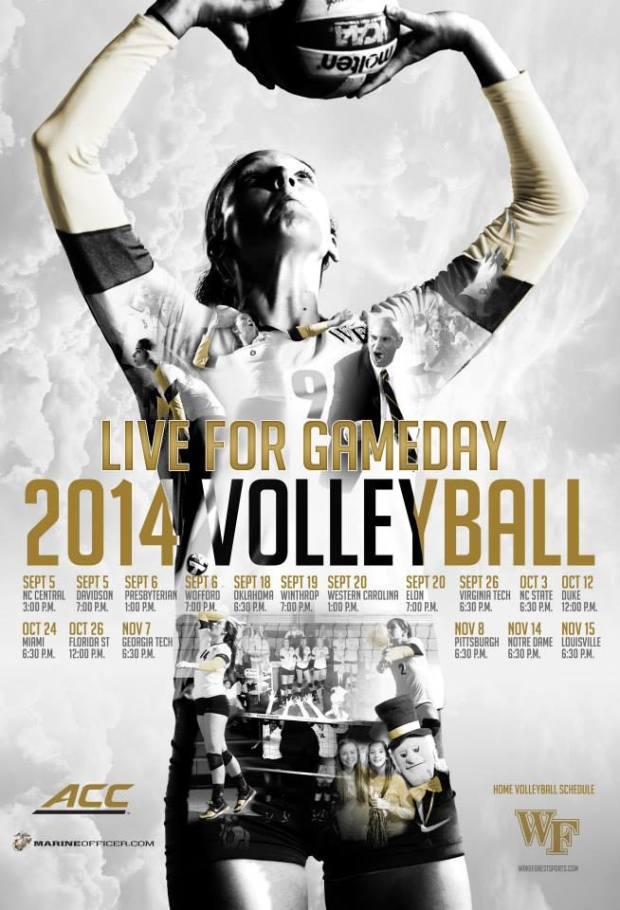 Top 25 2014 NCAA Volleyball Schedule