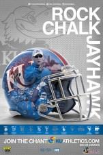 Kansas Football Poster