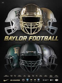 Baylor Football Spring Poster