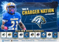New Haven Football Poster