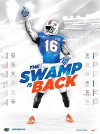 Florida Football Poster
