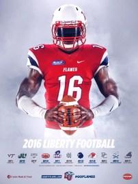 Liberty Football Poster