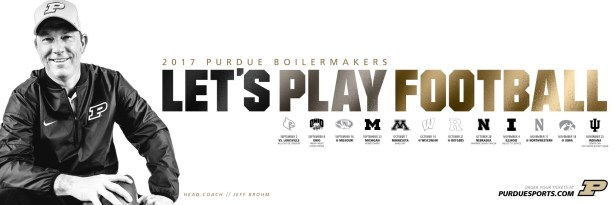 Purdue Football Spring Poster