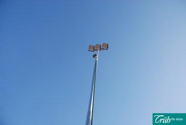 Sportplatz Beleuchtung