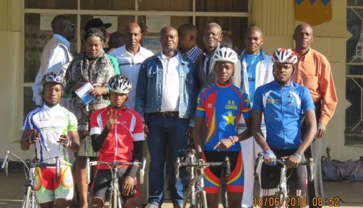 Cyclisme : 6ème tour de la RDC, Barthélemy Okito inspecte le circuit