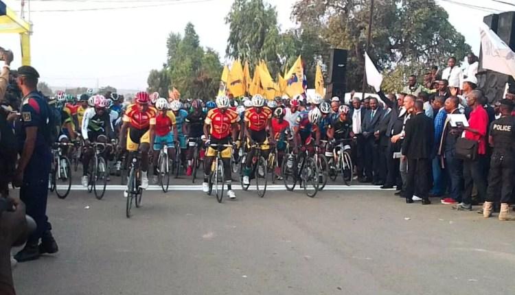 Cyclisme– 6è TOUR CYCLISTE INTERNATIONAL DE LA RDC : HADI Janvier, premier maillot Jaune
