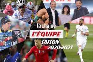 La chaine L'Équipe dévoile le programme de sa saison 2020/2021