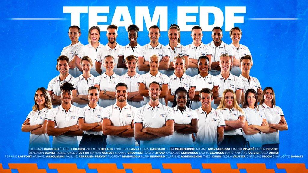 Team EDF sportifs