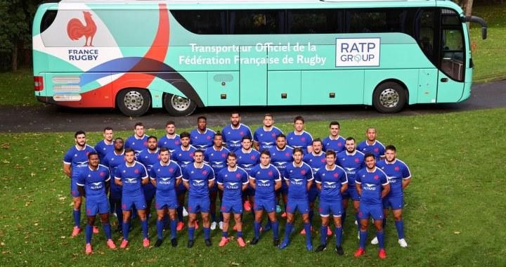 Le groupe RATP et la Fédération Française de Rugby ensemble jusqu'en 2024