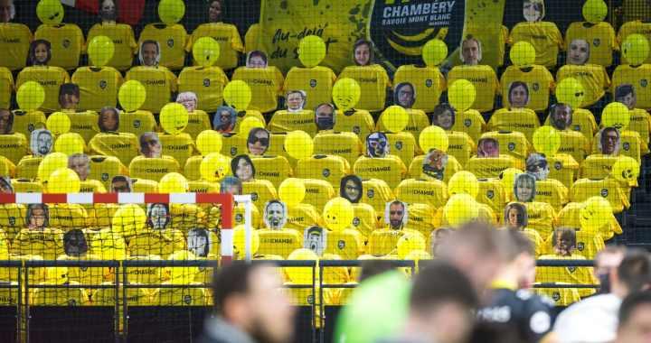 Chambéry Handball – Des photos de ses supporters pour égayer ses tribunes