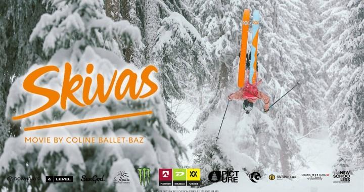 En vidéo – Skivas, le film de ski 100 % féminin par Coline Ballet-Baz