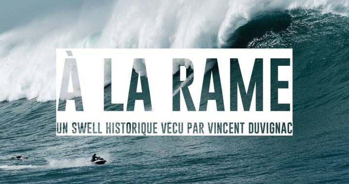 En vidéo – « À la Rame », nouveau documentaire de Vincent Duvignac