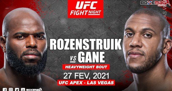 Cyril Gane vs. Jairzinho Rozenstruik – Un combat pour le top 5 de l'UFC